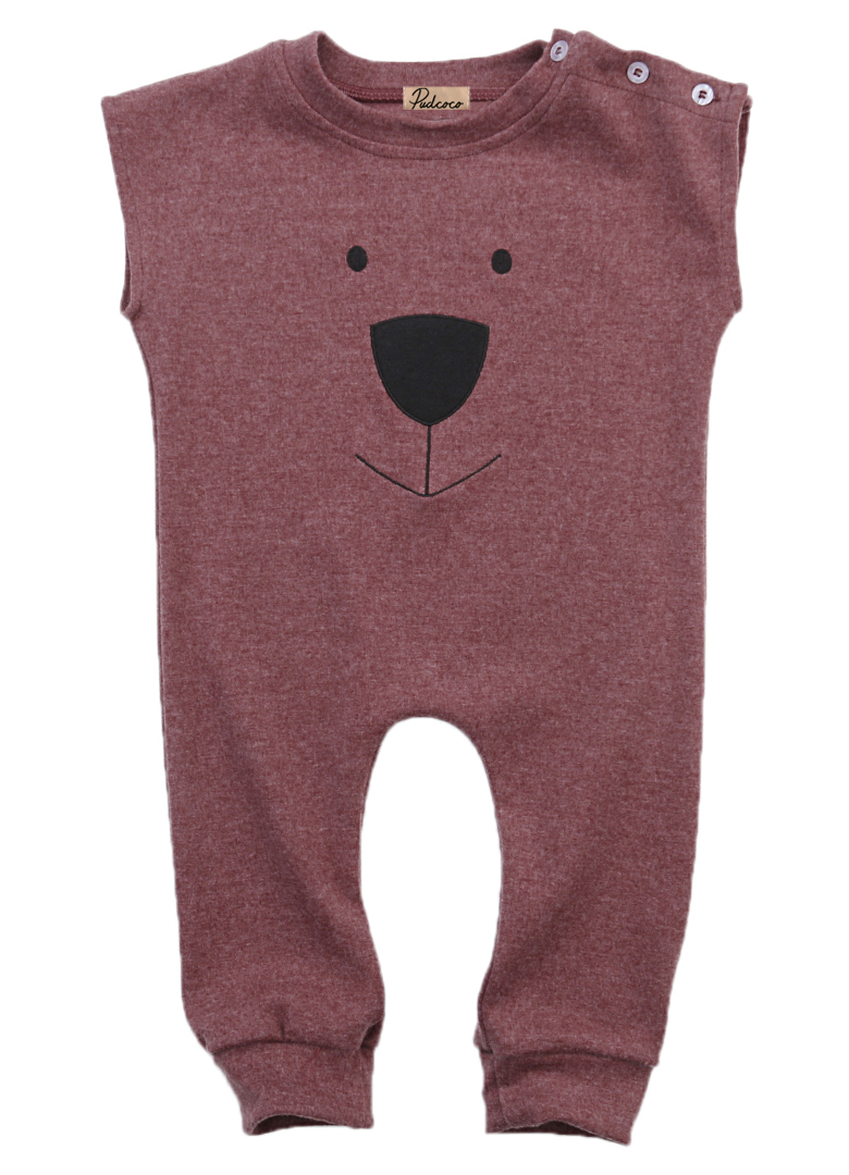Newest Infant Baby Kids Girl Boy Summer Clothes Cotton Bear Sleeveless Romper Jumpsuit Playsuit Outfits