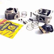 Buy Scooter 80cc 47mm Big Bore Kit Cylinder Barrel GY6 50 139QMB Chinese Performance for $69.95 in AliExpress store