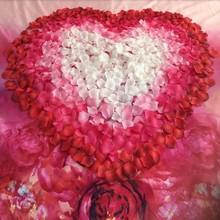 New Wedding Decoration 1000pcs/lot Rose Petal Petalos De Rosa De Boda Artificial Flowers Rose Petals KW1635(China (Mainland))