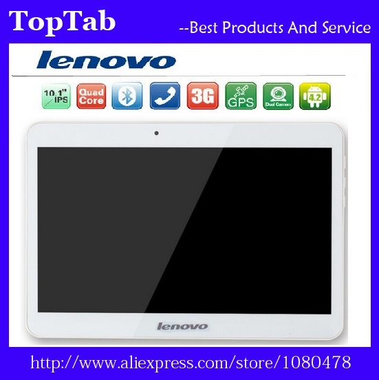 Free Shipping lenovo tablet 10 inch MT6582 A101 Quad Core 3G 1024*600 5.0MP 2GB 32GB Android 4.4 Bluetooth GPS tablet 7 9(China (Mainland))