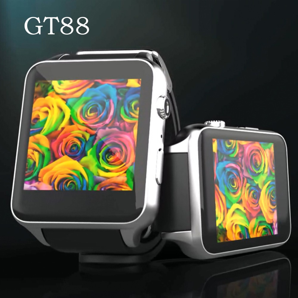 Kingwear GT88 Smart Watch 1.54 Touch Screen Megnetic Charge Bluetooth 4.0 Perfact Connect ISO Android Phones 3.0Mp Camera<br><br>Aliexpress