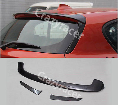 f20 f21 roof lip spoiler wing rear window fin for bmw p. Black Bedroom Furniture Sets. Home Design Ideas