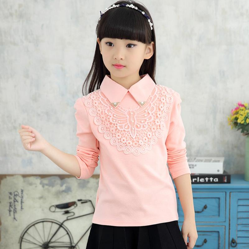 Блузки Для Девочки В Школу