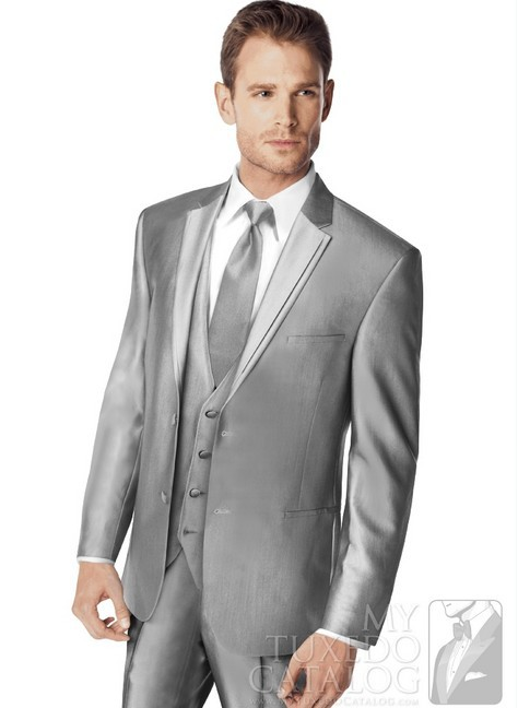 Mens Silver Suits For Weddings Mens Wedding Suits 2013