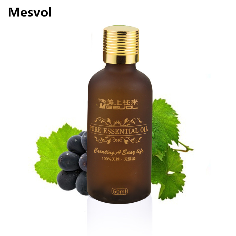 Grape seed oil Carrier Oil 50ml stovepipe essential oil body massage oils 1pcs/lot(China (Mainland))