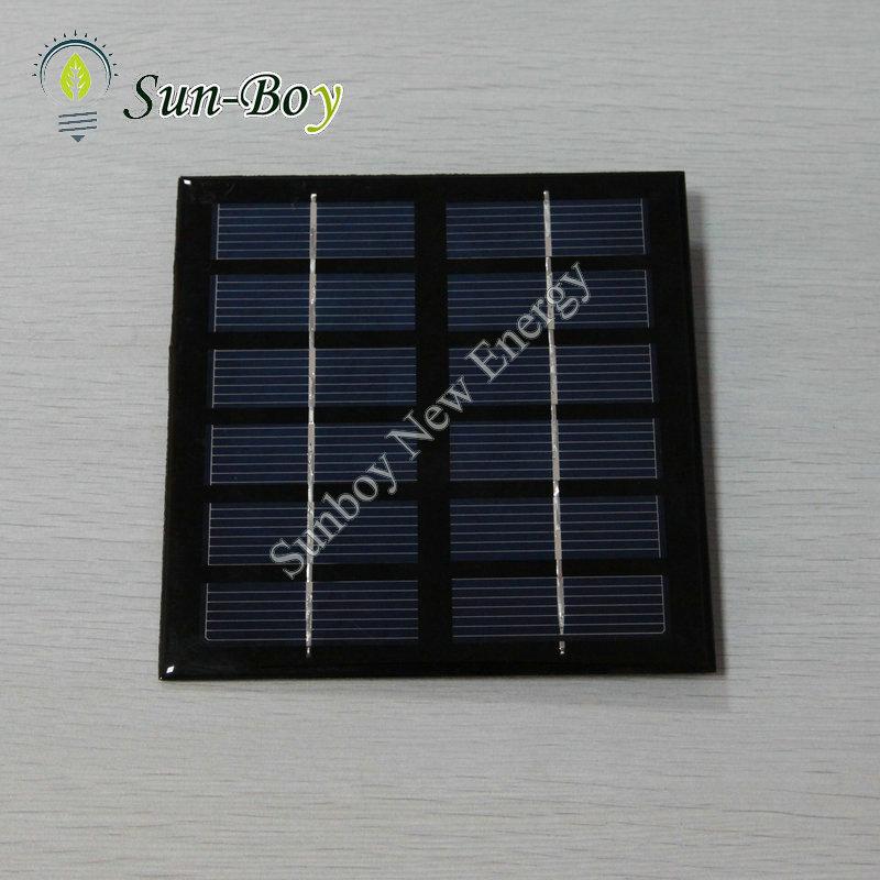 30pcs/lot 132*132mm 6V 1.5W Small Solar Panel(China (Mainland))