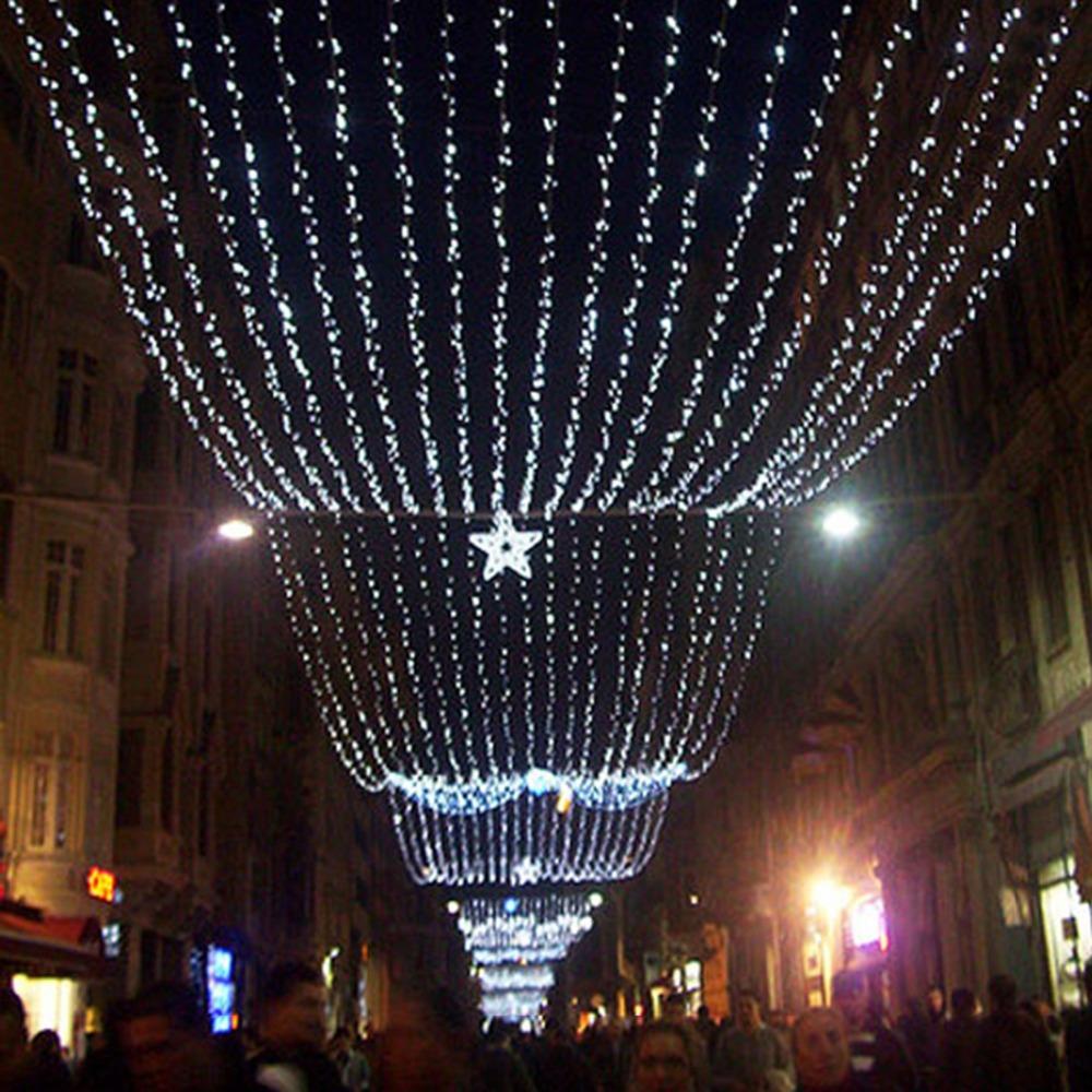 String Lights Voltage : 100M 500 Leds Safe Voltage String Fairy Lights Lighting for Christmas Tree Festival Party Garden ...