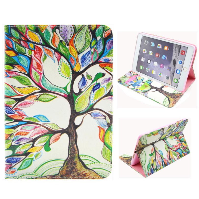 Hot-sale Wholesale Gifts Back Cover Pad PU Leather Case Cover Pad Tablet Protector Skin Stand For iPad Mini 1 2 3 Retina<br><br>Aliexpress