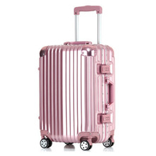 Buy 17 20 22 24 26 Inch Luggage Suitcase Wheels Travel Aluminium Suitcase Hardside Rolling Luggage TSA Lock Spinner Wheels for $181.59 in AliExpress store