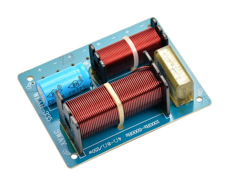 Audio Speaker Frequency Divider Amplifier Crossover Filter 3 Way ...