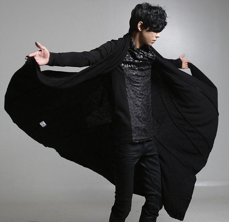Images of Black Trench Coat - Reikian