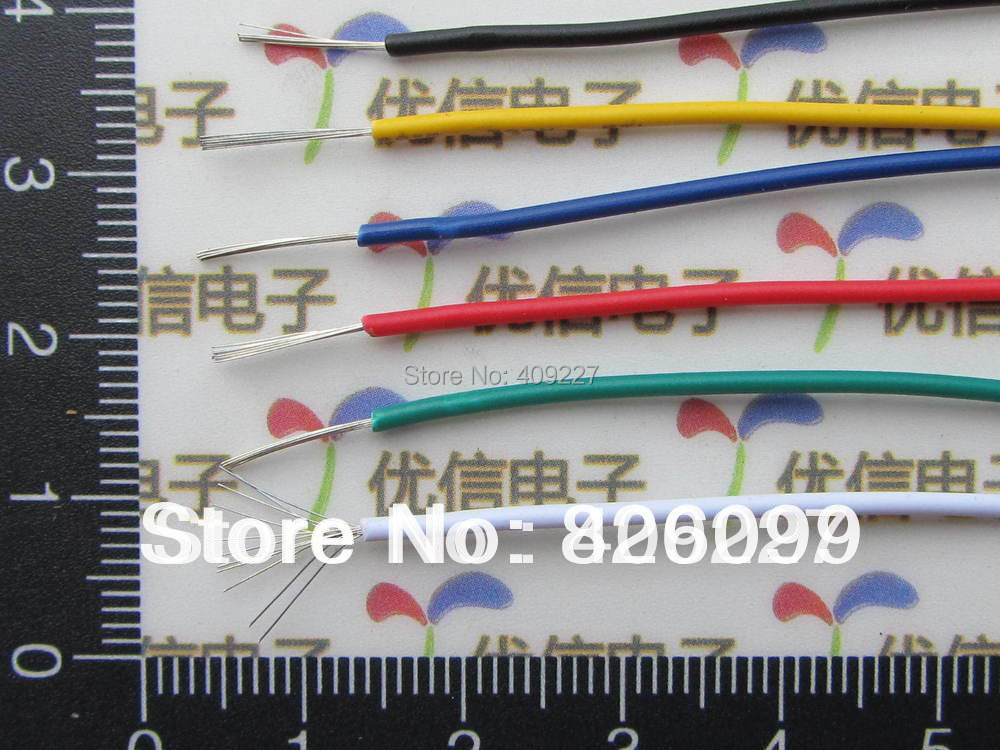 Free shipping by SGP~Smart Bes!!100m/lot 9colors 1007 24awg 300v good quality electronic wire, electrical cables(China (Mainland))