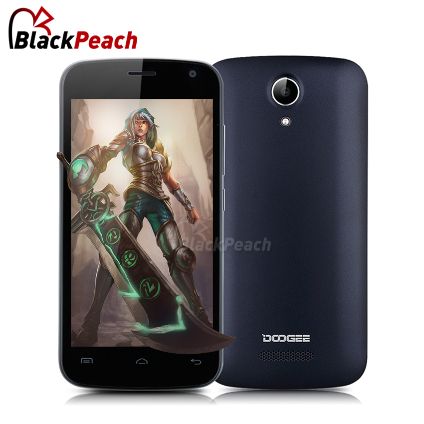 Doogee X3 Smartphone 4.5 Inch QHD 854x480 IPS Mtk6580 Quad Core Android 5.1 Mobile Cell Phone 1GB RAM 8GB ROM 5MP Cam WCDMA WIFI(China (Mainland))