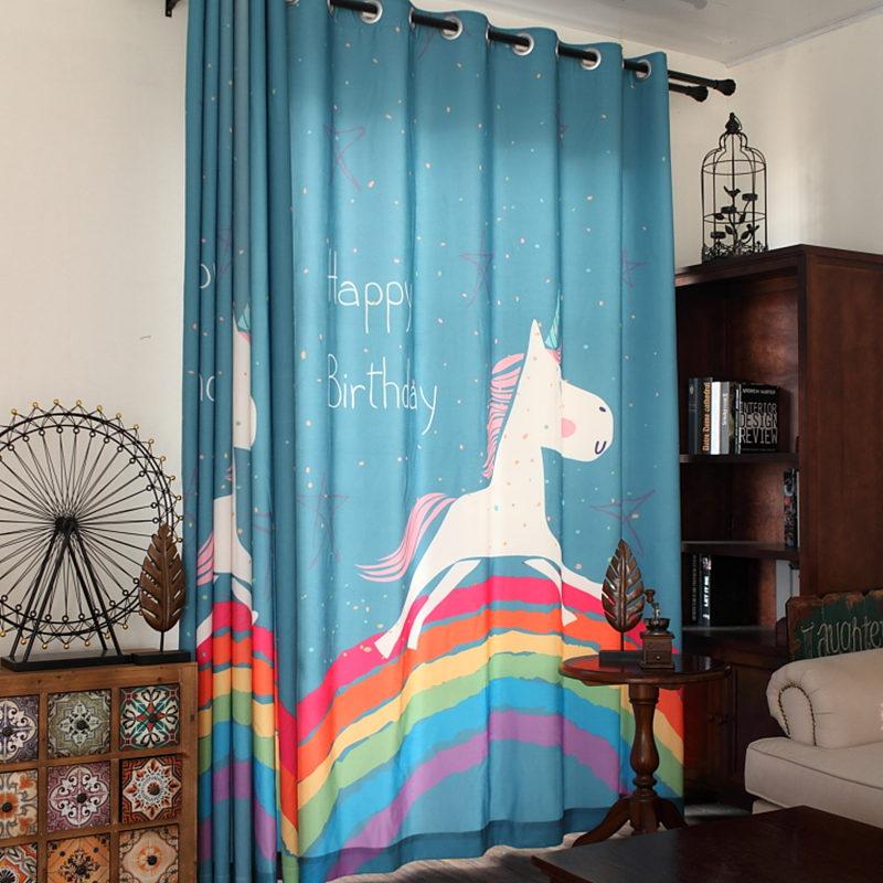 Online kopen wholesale jongens slaapkamer gordijnen uit china jongens slaapkamer gordijnen - Kamer paard meisje ...