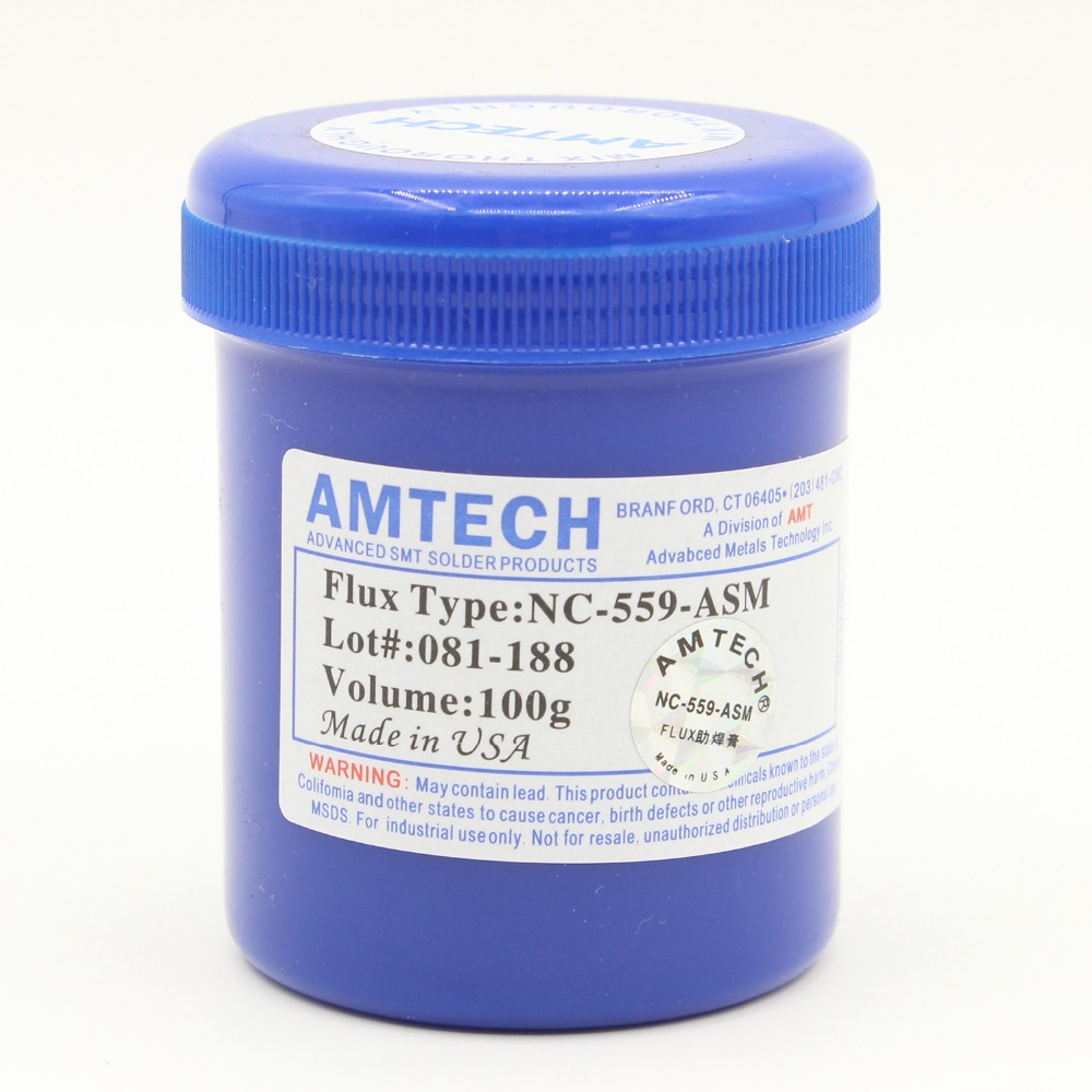 AMTECH Paste NC-559-ASM 100g Leaded Free Soldering Flux Welding Paste!(China (Mainland))