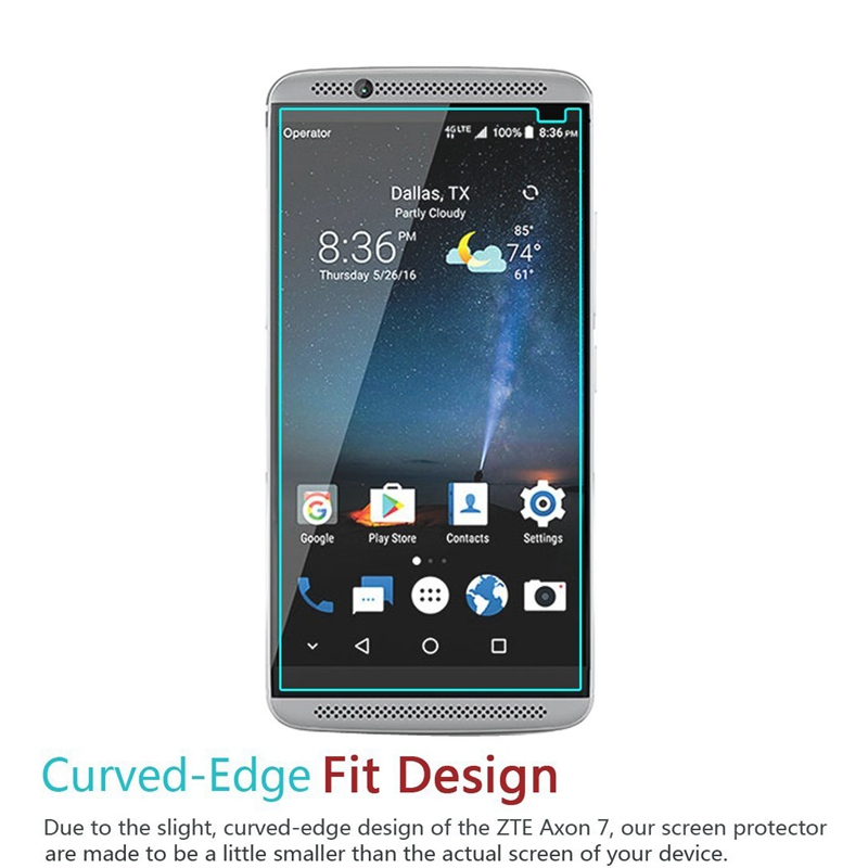 Time Offer zte axon 7 tempered glass well these