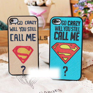 Veneer super man for apple for iphone phone case protective case protective case shell