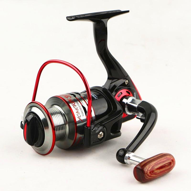 2015 New Fishing Reels Zero Clearance Reel Fishing Half Metal Swing Arm Fly Fishing Reels 1000-7000 Series Spinning Reel Fishing