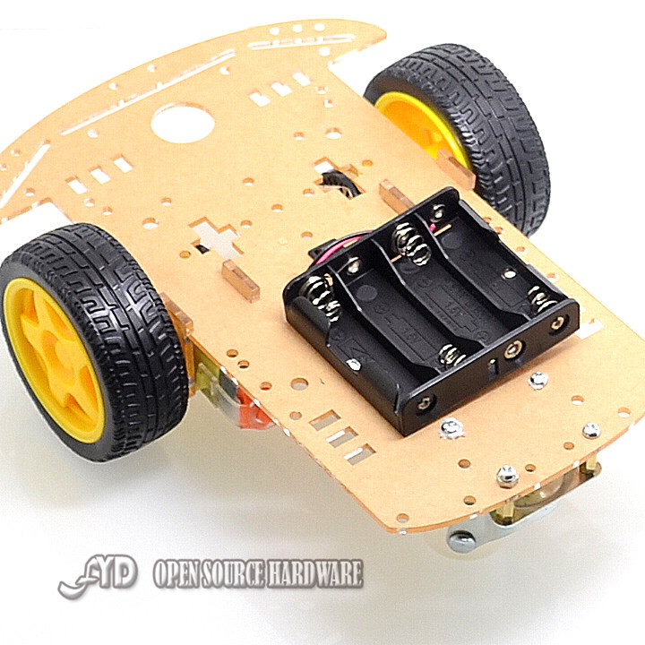 Motor Smart Robot Car Chassis /Tracing car box Kit Speed Encoder Send Battery Box - FYD Open Source Hardware store