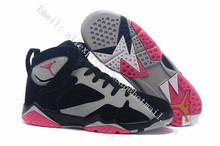 2016 new AiR JoRdAn 7 SHoEs rEtro Hare USA Olympic Cigar Champagnemen white Sweater women size US 5.5 to 8.5 with original box(China (Mainland))