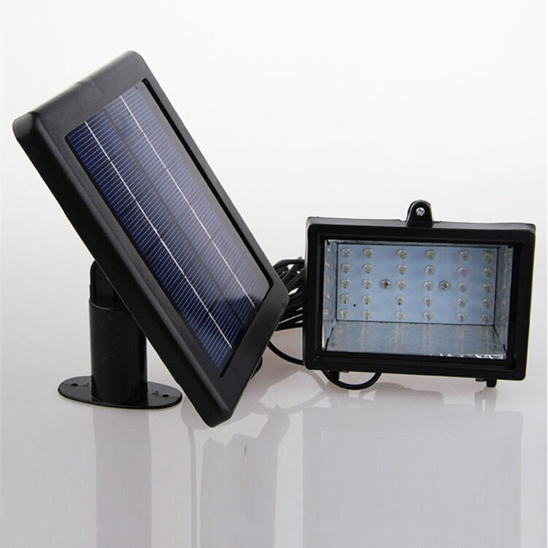 solar home lighting system floodlight 30 led outdoor light solar flood