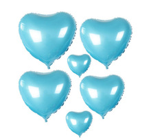 Heart-shaped christmas decoration  foil balloon children's birthday/party celebration decorate number foil balloon(China (Mainland))