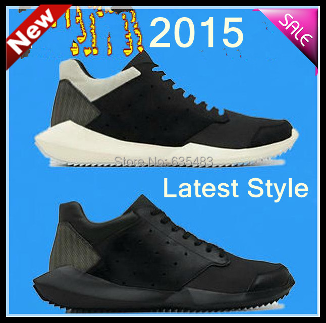New Listed 2014 High-end SS14 Rick QASV Brand Natural Leather Sport Shoes Man Breathable Fashion Sports & Leisure Sneakers(China (Mainland))