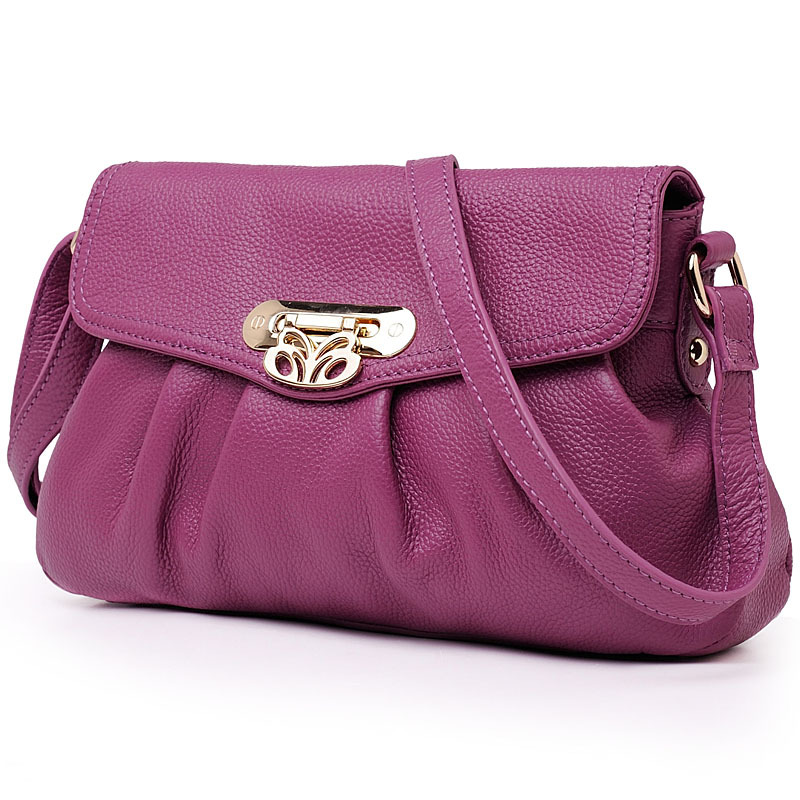 2014 fashion genuine leather bag lady bolsos casual women messenger