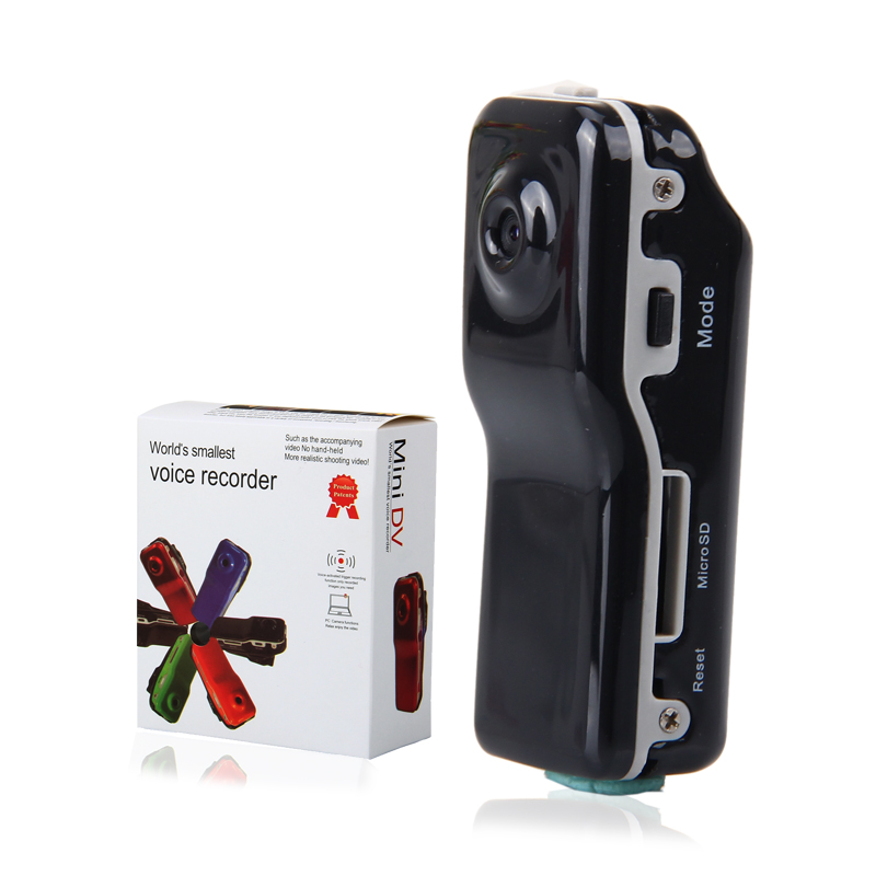 MD80 Mini DV Camcorder DVR Video Camera Webcam Support 32GB HD Cam Sports Helmet Bike Motorbike Camera Video Audio Recorder(China (Mainland))