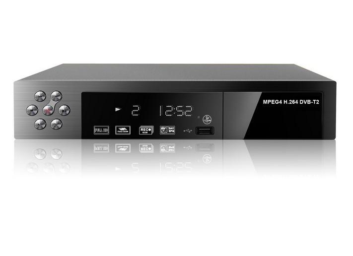 DVB-T2 HD Terrestrial Digital Video Broadcasting TV Receiver Support MPEG-4 set top box # F1116(China (Mainland))