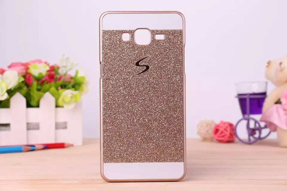 For Samsung Galaxy Core Prime G360 SM-G360H Bling Bling Fashion Shinning Case Glitter Protector Cell Phone Back S Line Cover(China (Mainland))
