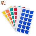 Dayan Magic Cube PVC Stickers for Dayan GuHong 3x3x3 57mm Magic Cube Puzzle Toys 2 Set