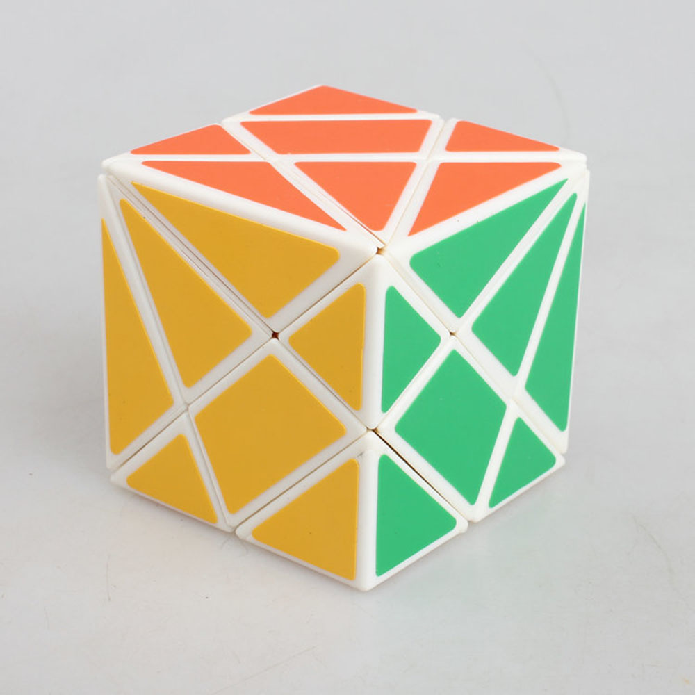 Axis deformation third-order puzzle Cube White magic cube stone Speed Classic Toys Learning & Education For children(China (Mainland))