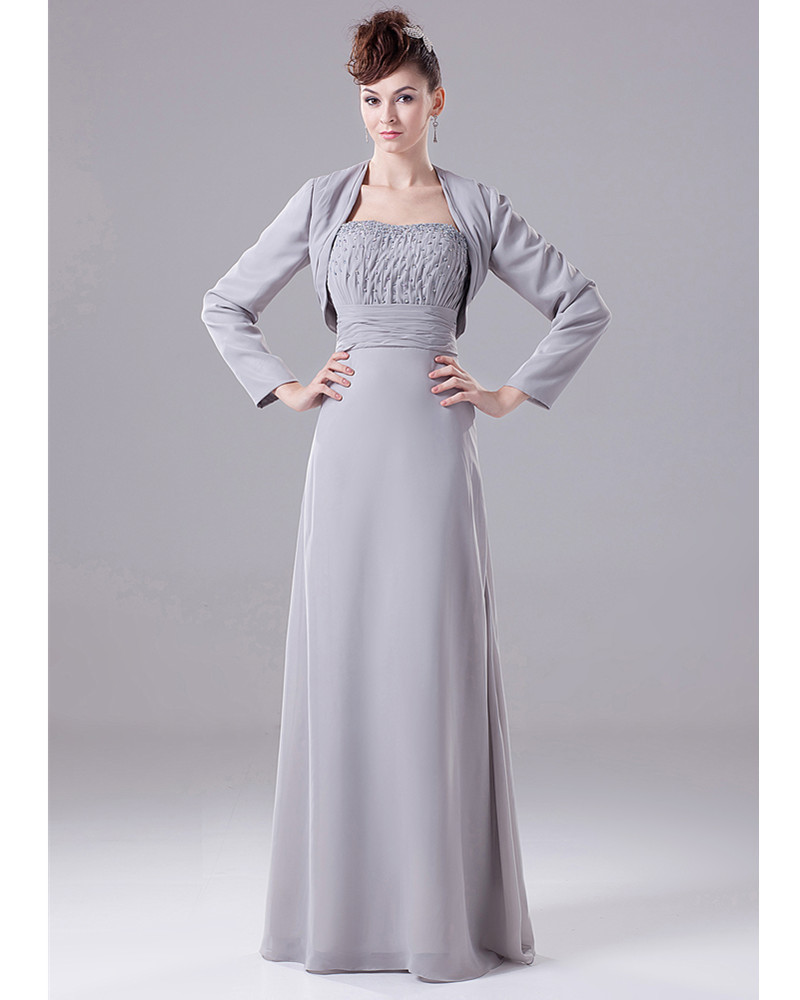 Womens formal jacket dresses beautiful gray womens for Womens dress jacket wedding