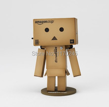 Free Shipping Japanese anime New Lovely Danboard Danbo Doll Mini 2 Style 8cm PVC Action Figure Toy with LED light 8cm