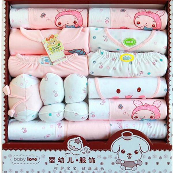 Free Baby Gift Sets : Pcs gift set new baby cotton clothing newborn hot