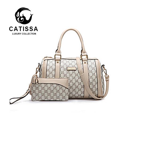 Free shipping 2015 new European and American fashion big pillow pack printing Boston Shoulder Messenger bag handbag(China (Mainland))