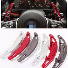 Buy New 2pcs Aluminum Steering Wheel Shift Paddle Shifter Extension BMW M2 M3 M4 M5 M6 X5M X6M Styling Paddle Gearbox for $35.10 in AliExpress store