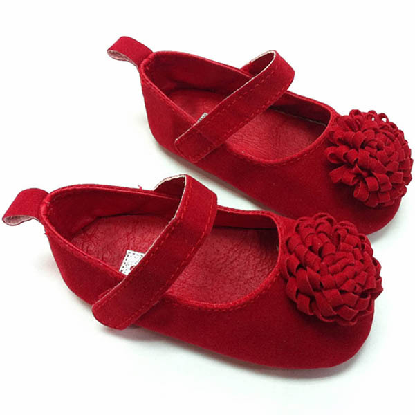 2015 New Festival flower 0-1 years newly born infant baby girls first walkers kid bebe sapato jane shoes Hot(China (Mainland))