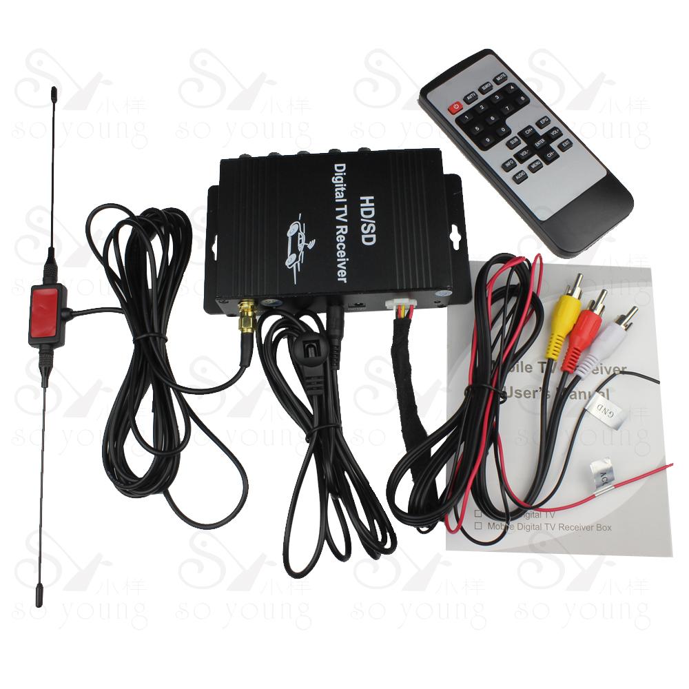 Mobile ATSC Digital TV Receiver car TV Tuner for USA America United States Market free shipping(China (Mainland))