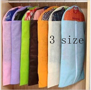 Dress Clothes Garment Suit Cover Bag Dustproof Jacket Skirt Storage Protector Free shipping(China (Mainland))