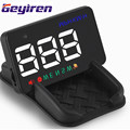 2017 GEYIREN A5 Car HUD Projector 3 5 inch GPS Car Head Up Display Windshield Projector