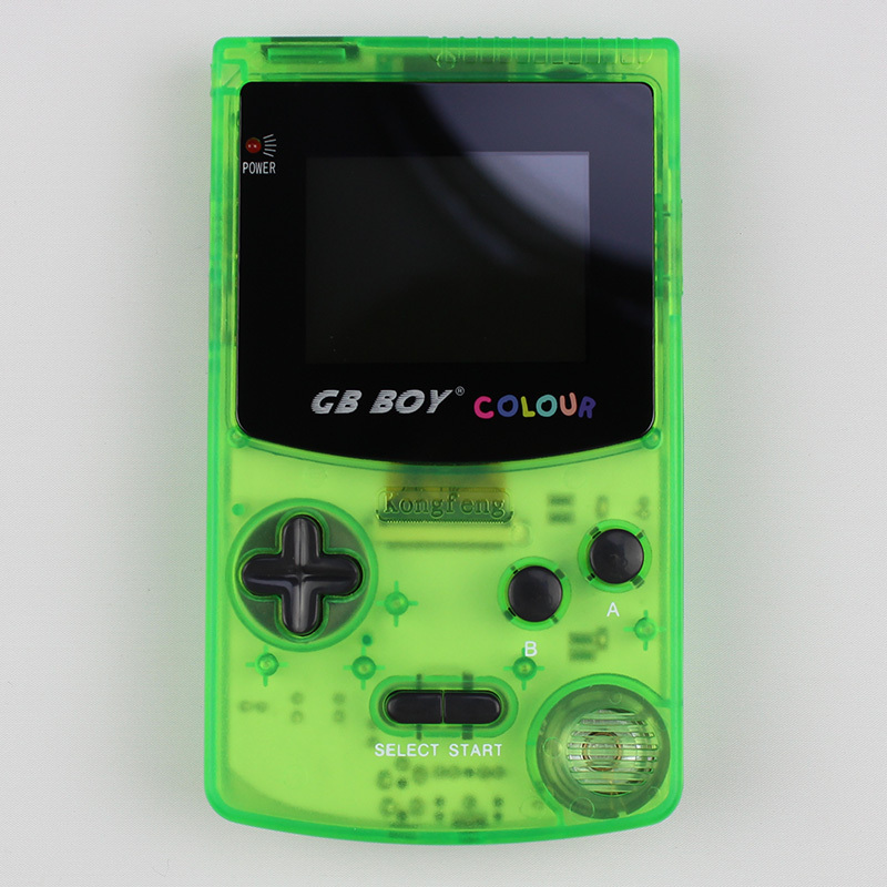 Limited Edition Kong Feng GB Boy Color Colour Handheld Game Consoles Game Player with Backlit 66 in 1 Model(China (Mainland))