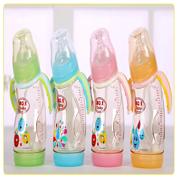 2015 Rushed Baby Bottles free Shipping 1piece Wide Mouth Printing Feeding Bottle for Baby Nursing Feeder Brand New(China (Mainland))