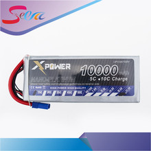 Buy Lipo 22.2V 10000Mah Lithium Battery 25C EC5 T XT60 XT90 plug DIY FPV RC Helicopter Quadcopter Drone Multicopter for $105.00 in AliExpress store