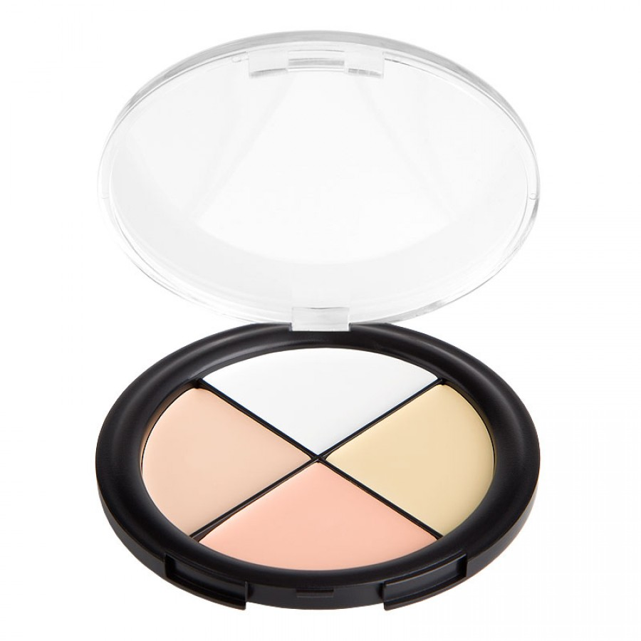 Beautiful 4 Color Concealer Palette Camo Quad Light skin tones 2#(China (Mainland))