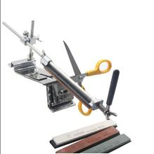 Upgraded Fixed-angle Knife Sharpener Kit Full Metal Stainless Steel Professional 4 Sharpening Stones(China (Mainland))
