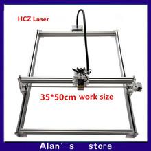 Laser 35 * 50cm large area 1000 mw laser engraving machine DIY mini engraving machine 1w laser module laser cutter machine