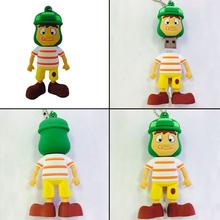 Комикс игрушка подлинная USB 2.0 карта памяти usb-флеш-накопитель ручка 4 гб 8 гб 16 гб 32 гб 64 гб Pendrive 3D сплошной мальчик BU0322