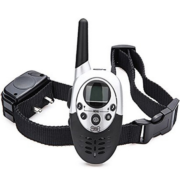 Dog Training Collar 1000M Waterproof Rechargeable LCD Remote Control Electronic Electric Vibration Shock Beeper Collar(China (Mainland))